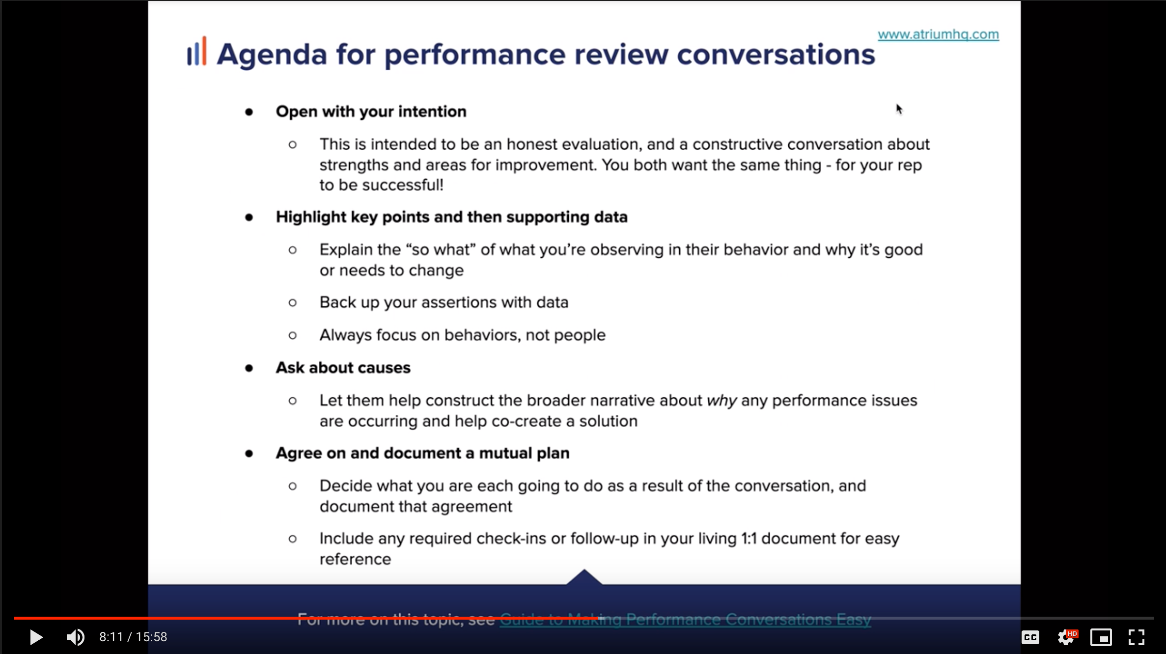 Performance Conversation & PIP Thumb